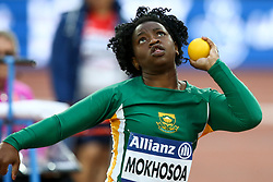 22.07.2017, Olympia Stadion, London, GBR, Leichtathletik WM der Behinderten, im Bild Dineo Annan MOKHOSOA (RSA, F36) // Dineo Annan MOKHOSOA (RSA, F36) // during the World Para Athletics Championships at the Olympia Stadion in London, Great Britain on 2017/07/22. EXPA Pictures © 2017, PhotoCredit: EXPA/ Eibner-Pressefoto/ Eibner-Pressefoto<br /> <br /> *****ATTENTION - OUT of GER*****
