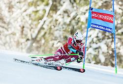 Henrik Kristoffersen (NOR) competes during 9th Men's Giant Slalom race of FIS Alpine Ski World Cup 55th Vitranc Cup 2016, on March 4, 2016 in Kranjska Gora, Slovenia. Photo by Vid Ponikvar / Sportida
