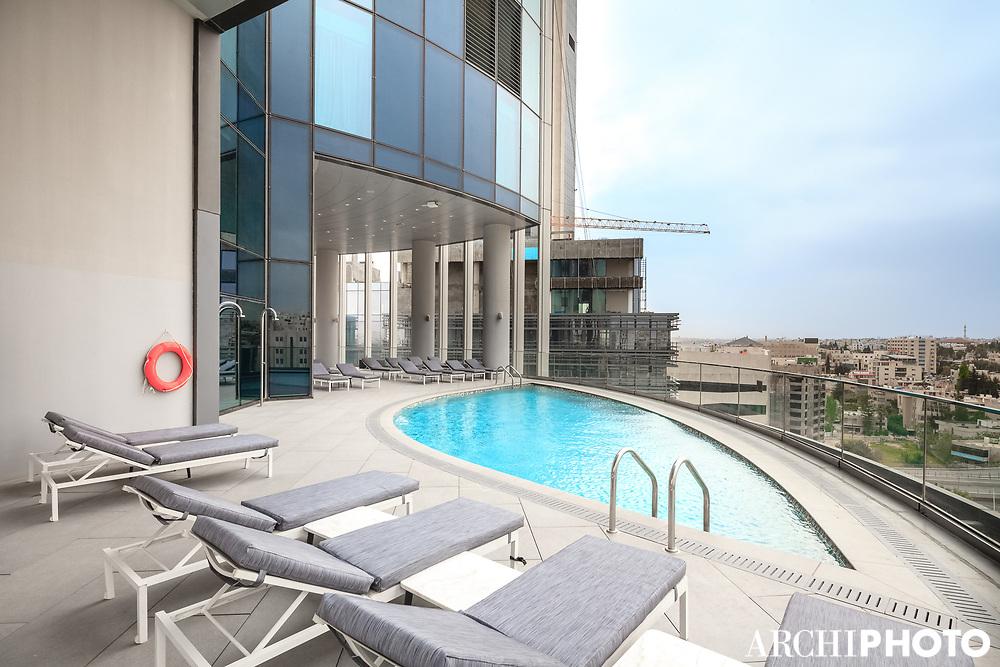 AS. Architecture-Studio • Rotana Hotel, Amman, Jordan • Swimming Pool