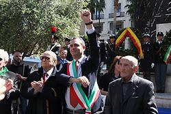 April 25, 2017 - Napoli, Italy - In all Italian cities, we celebrated the 72nd anniversary of Liberation (Festa della Liberazione) from Nazi-fascist. (Credit Image: © Esposito Salvatore/Pacific Press via ZUMA Wire)