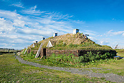 Norse settlement, Unesco world heritage sight L´Anse aux Meadows only viking sight in America, Newfoundland, Canada
