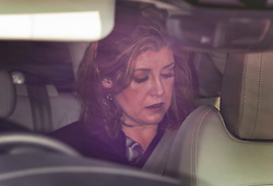 © Licensed to London News Pictures. 01/05/2019. London, UK. Penny Mordaunt is seen arriving at Parliament for Prime Minister's Questions today - before it was announced that Defence Secretary Gavin Williamson has been sacked to be replaced by Penny Mordaunt Photo credit: Peter Macdiarmid/LNP