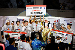 2008 Monsoon Cup. Peter Gilmour and crew celebrating after winning the Monsoon Cup 2008 (Sunday the 7th December 2008). ..