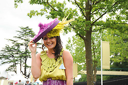 LOUISE TURNER at the first day of the 2010 Royal Ascot Racing festival at Ascot Racecourse, Berkshire on 15th June 2010.