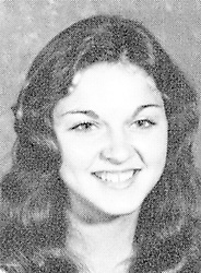 1974, Rochester, Michigan, U.S. - Yearbook photo of MADONNA, then known as Madonna Louise Cicone, from Adams High School, 1974. Madonna, the American singer, songwriter, actress, and businesswoman was born August 16, 1958. Referred to as the ''Queen of Pop'' since the 1980s, Madonna is known for pushing the boundaries of lyrical content in mainstream popular music, as well as visual imagery in music videos and on stage. Frequently reinvented both her music and image while maintaining autonomy within the recording industry. Besides sparking controversy, her works have been praised by music critics. Madonna is often cited as an influence by other artists.<br /> Born and raised in Michigan, Madonna moved to New York City in 1978 to pursue a career in modern dance. After performing as a drummer, guitarist and vocalist in the rock bands Breakfast Club and Emmy, Madonna signed with Sire Records in 1982 and released her eponymous debut album the next year. She followed it with a series of successful albums, including the global bestsellers, Like a Virgin (1984) and True Blue (1986), as well as the Grammy Award winners, Ray of Light (1998) and Confessions on a Dance Floor (2005). Throughout her career, Madonna has written and produced most of her songs, with many of them reaching number one on the record charts. (Credit Image: © Adams High School Yearbook via ZUMA Wire)