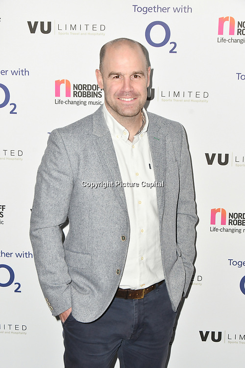 Charlie Hodgson attends Rugby legend DANNY CARE is to be honoured at the 24th annual Legends of Rugby Dinner 2019 in Aid of Nordoff Robbins on WEDNESDAY 16TH JANUARY 2019 at JW Marriott Grosvenor House, London, UK.