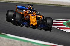 F1 Barcelona Testing 15 May 2018