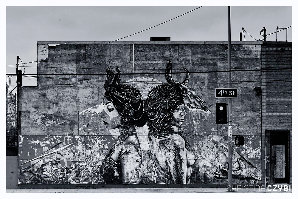The Streets of Los Angeles: Street Art I'm Arts District of Downtown