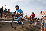 Nairo Quintana (COL - Movistar), Ion Izagirre (ESP - Bahrain - Merida) , during the UCI World Tour, Tour of Spain (Vuelta) 2018, Stage 9, Talavera de la Reina - La Covatilla 200,8 km in Spain, on September 3rd, 2018 - Photo Luca Bettini / BettiniPhoto / ProSportsImages / DPPI