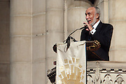 6 January 2010- New York NY- Basil Patterson at the Percy E. Sutton's Funeral held at The Riverside Church on January 6, 2010 in New York City. Photo Credit: Terrence Jennings/Sipa