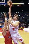 DESCRIZIONE : Milano Lega A 2012-13 EA7Emporio Armani  Grissin Bon Reggio Emilia<br /> GIOCATORE : Melli Nicolo<br /> CATEGORIA : Tiro<br /> SQUADRA : EA7 Emporio Armani Milano<br /> EVENTO : Campionato Lega A 2013-2014<br /> GARA : EA7Emporio Armani  Grissin Bon Reggio Emilia<br /> DATA : 24/11/2013<br /> SPORT : Pallacanestro <br /> AUTORE : Agenzia Ciamillo-Castoria/I.Mancini<br /> Galleria : Lega Basket A 2013-2014  <br /> Fotonotizia : Milano Lega A 2013-2014 EA7Emporio Armani  Grissin Bon Reggio Emilia<br /> Predefinita :