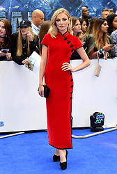 Clara Paget attending the European premiere of Valerian and the City of a Thousand Planets at Cineworld in Leicester Square, London