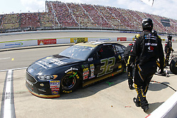 August 12, 2018 - Brooklyn, Michigan, United States of America - Matt DiBenedetto (32) brings his car down pit road for service during the Consumers Energy 400 at Michigan International Speedway in Brooklyn, Michigan. (Credit Image: © Chris Owens Asp Inc/ASP via ZUMA Wire)