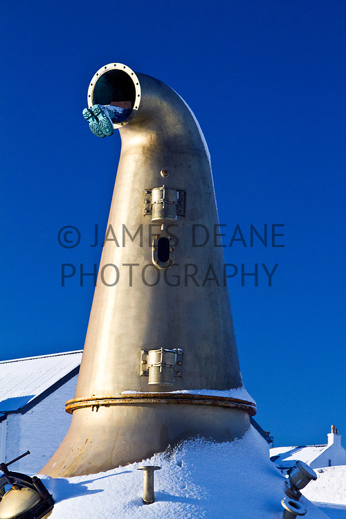 The Still that was once sited outside Bruichladdich Distillery on the Isle of Islay