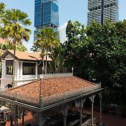 Raffles Hotel Inner Garden & Food Court, Singapore