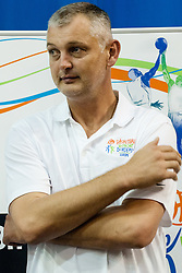 Zarko Paspalj of Serbia, played for San Antonio Spurs, at Basketball Without Borders for prospects under 17 with best coaches and some NBA legends on August 8, 2011, in Hala Tivoli, Ljubljana, Slovenia. (Photo by Matic Klansek Velej / Sportida)