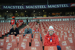 South Africa - Johannesburg, Emirates Airlines Park. 24/08/18  Currie Cup. Lions vs Griquas.<br /> A few rugby fans in the stadium before the game.<br /> Picture: Karen Sandison/African News Agency(ANA)