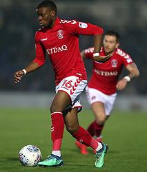 Charlton Athletic's Stephy Mavididi in action