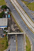 Belo Horizonte_MG, Brasil..Imagem aerea da duplicacao da Avenida Antonio Carlos em Belo Horizonte,  Minas Gerais.  ..Aerial image of the duplication of Avenida Antonio Carlos in Belo Horizonte, Minas Gerais...Foto: BRUNO MAGALHAES / NITRO