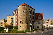 Wieża bastejowa zwana Basztą Grodzką, Jelenia Góra, Polska<br /> Tower called the Castle Tower, Jelenia Góra, Poland