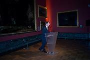 SIR NICHOLAS SEROTA, Van Dyck private view and dinner. Tate Britain. 16 February 2009 *** Local Caption *** -DO NOT ARCHIVE -Copyright Photograph by Dafydd Jones. 248 Clapham Rd. London SW9 0PZ. Tel 0207 820 0771. www.dafjones.com<br /> SIR NICHOLAS SEROTA, Van Dyck private view and dinner. Tate Britain. 16 February 2009