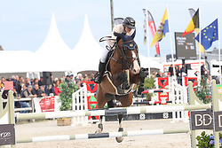 Jacobs Paige, RSA, Pitou D'Emma<br /> 4 years old Horses<br /> BK Young Horses Gesves 2021<br /> © Hippo Foto - Julien Counet