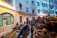 0208114 Princess Cristina leaves at a court in Palma de Mallorca
