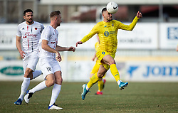 Dario Kolobaric of Domzale during football match between NK Domzale and NK CB24 Tabor Sezana in 22nd Round of Prva liga Telekom Slovenije 2020/21, on February 21, 2021 in Sports park Domzale, Slovenia. Photo by Vid Ponikvar / Sportida