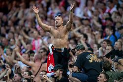 24-05-2017 SWE: Final Europa League AFC Ajax - Manchester United, Stockholm<br /> Finale Europa League tussen Ajax en Manchester United in het Friends Arena te Stockholm / Ajax support publiek