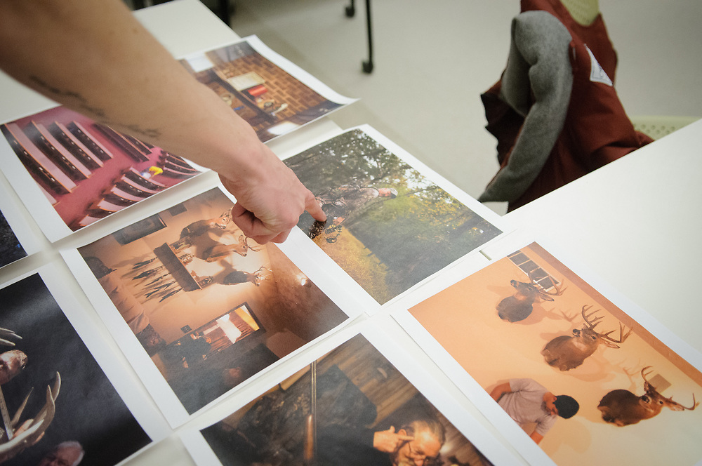 MFA New Media Photojournalism student Joe Van Eeckhout, March 3rd, 2015.