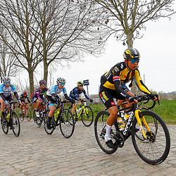 04-04-2021: Wielrennen: Ronde van Vlaanderen (Vrouwen): Oudenaarde<br />Anouska Koster; Mieke Kroger