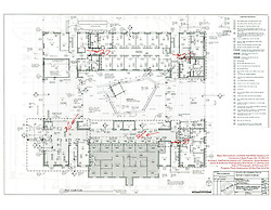 Major Renovation Litchfield Hall WCSU Danbury CT<br /> Connecticut State Project No: CF-RD-275<br /> Architect: OakPark Architects LLC  Contractor: Nosal Builders<br /> James R Anderson Photography New Haven CT photog.com<br /> Date of Photograph: 28 February 2017<br /> Camera View: Key Plan 4 of 4