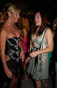 """Alex Best and Katie Nichol. Vanity Fair magazine hosts the """"Diamonds"""" Private View and Launch Party at the Natural History Museum. July 6  London. ONE TIME USE ONLY - DO NOT ARCHIVE  © Copyright Photograph by Dafydd Jones 66 Stockwell Park Rd. London SW9 0DA Tel 020 7733 0108 www.dafjones.com"""