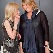 "Martha Stewart attending ""William Wegman: Hello Nature"" reception at Bowdoin College Art Museum."