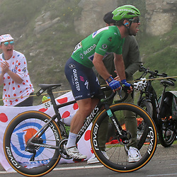 LUZ ARDIDEN (FRA) CYCLING: July 15<br /> 18th stage Tour de France Pau-Luz Ardiden<br /> Images from the Col du Tourmalet<br /> Mark Cavendish