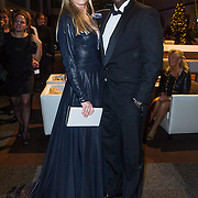 NLD/Amsterdam/20141211- Opening Masters of LXRY 2014, Carlos Lens en partner Stacey Netten