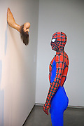 The new Museum of Contemporary Art, Sydney Australia opens today..Spiderman by artist Stephen Birch