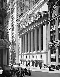 Dec. 9, 2015 - New York Stock Exchange, New York City, USA, circa 1904 (Credit Image: © Glasshouse via ZUMA Wire)