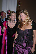 Lisa Wilding and Kim Killeen. Connaught Square Squirrel Hunt Inaugural Hunt Ball. Banqueting House, Whitehall. 8 September 2005. ONE TIME USE ONLY - DO NOT ARCHIVE  © Copyright Photograph by Dafydd Jones 66 Stockwell Park Rd. London SW9 0DA Tel 020 7733 0108 www.dafjones.com