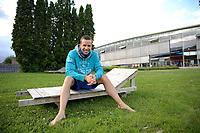 Svømming<br /> Drammenshallen<br /> NM Langbane , 100m bryst , herrer , finale<br /> Alexander Dale Oen  , Bærumsvømmerne <br /> Foto : Reidar Talset , Digitalsport