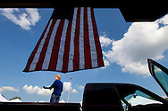 Democratic Senate hopeful Robin Carnahan campaigns in St. Peters, Missouri.