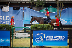 Krajewski Julia, (GER), Chipmunk FRH<br /> World Equestrian Games - Tryon 2018<br /> © Hippo Foto - Sharon Vandeput<br /> 11/09/2018