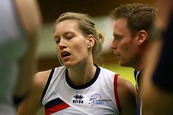 20160409 NED: Volleybal: Sliedrecht Sport - Eurosped TVT, Sliedrecht  <br />Angelique Vergeer, Matt van Wezel