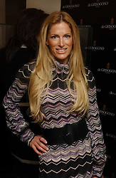 LAURA COMFORT at a lunch hosted by Fawaz Gruosi to celebrate the launch of De Grisogono's latest watch 'Be Eight' held at Nobu, 19 Old Park Lane, London W1 on 30th November 2006.<br /><br />NON EXCLUSIVE - WORLD RIGHTS
