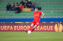 06.12.2012, Stadio Friuli, Udine, ITA, UEFA EL, Udinese Calcio vs FC Liverpool, Gruppe A, im Bild Jamie Carragher (# 23, Liverpool FC) // during the UEFA Europa League group A match between Udinese Calcio and Liverpool FC at the Stadio Friuli, Udinese, Italy on 2012/12/06. EXPA Pictures © 2012, PhotoCredit: EXPA/ Juergen Feichter
