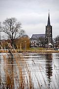 Nederland, Batenburg, 25-2-2010De Katholieke kerk van dit Maasdorp.Foto: Flip Franssen/Hollandse Hoogte