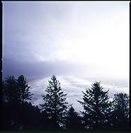 Overlooking Manzanita, Oregon from Hwy 101