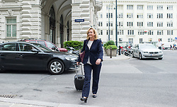 26.05.2014, OeVP Bundespartei, Wien, AUT, OeVP, Vorstandssitzung der OeVP Bundespartei. im Bild Nationalratsabgeordnete OeVP Maria Fekter // Member of Parliament OeVP Maria Fekter before board meeting of OeVP at federal party of OeVP in Vienna, Austria on 2014/05/26. EXPA Pictures © 2014, PhotoCredit: EXPA/ Michael Gruber