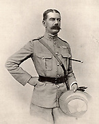 Horatio Herbert Kitchener (1850-1916) Irish-born British soldier and statesman. In the Sudan War he defeated the troops of the Mahdi at Omdurman (1898). Commander-in-chief of the British campaign in the Boer War from 1900. Secretary of State for War at the beginning of World War I. After a photograph published London 1901. Halftone