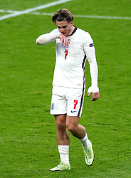 England's Jack Grealish during the UEFA Euro 2020 Group D match at Wembley Stadium, London. Picture date: Tuesday June 22, 2021.